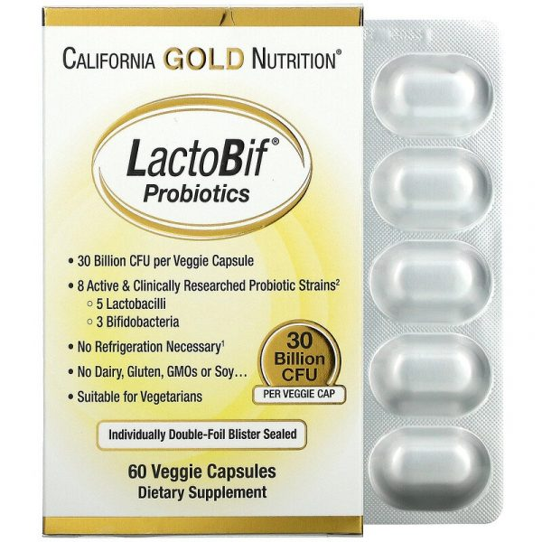 LactoBif Probiotics 30 Billion CFU