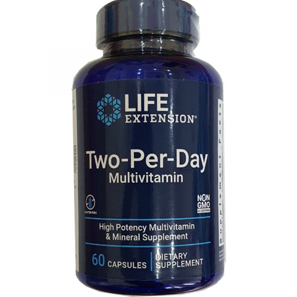 life extension two per day multivitamin